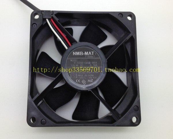 Nmb 8cm dual ball bearing fan 3110kl 04w b59 8025 fan power supply fan
