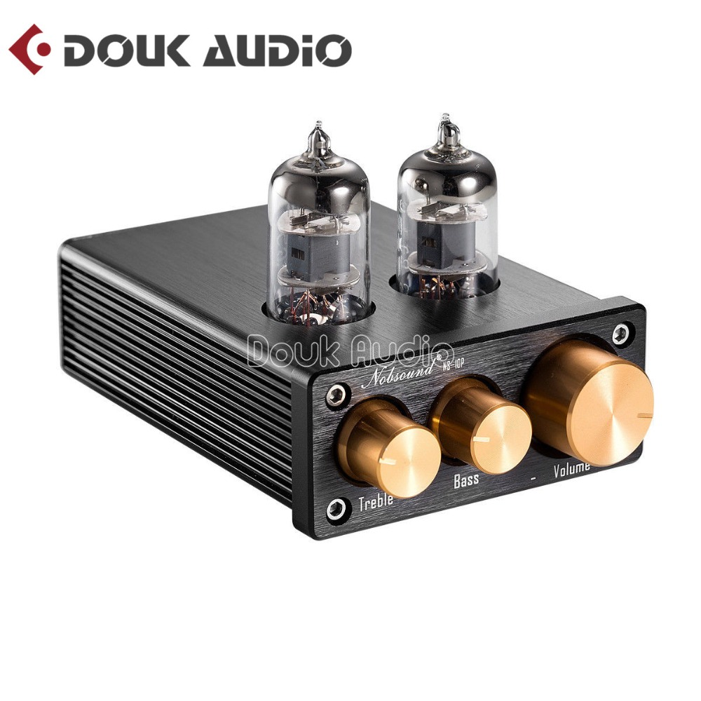 2018 Nobsound Hifi 6j1 Tube Pre Amplifier Stereo Class A Mini Pre Amp For Digital Power