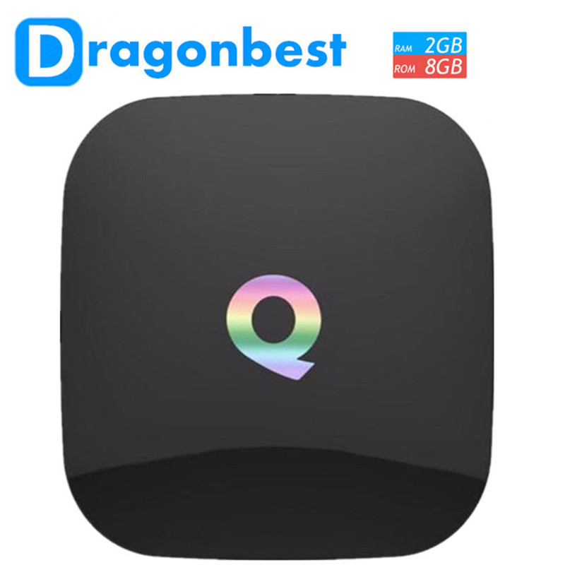 10pcs Vensmile TV Box Qbox Amlogic S905 Quad Core OS Android 5.1 Dual Band Wifi 2.4G and 5G Preinstall 16.0 Support BT 4.0 m8 fully loaded xbmc amlogic s802 android tv box quad core 2g 8g mali450 4k 2 4g 5g dual wifi pre installed apk add ons