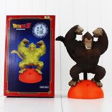 Anime Dragon Ball Z Son Goku PVC Figure Gokou Giant Ape Mode King Kong Mode Doll 27cm Cool Model for Collection Kids Toys