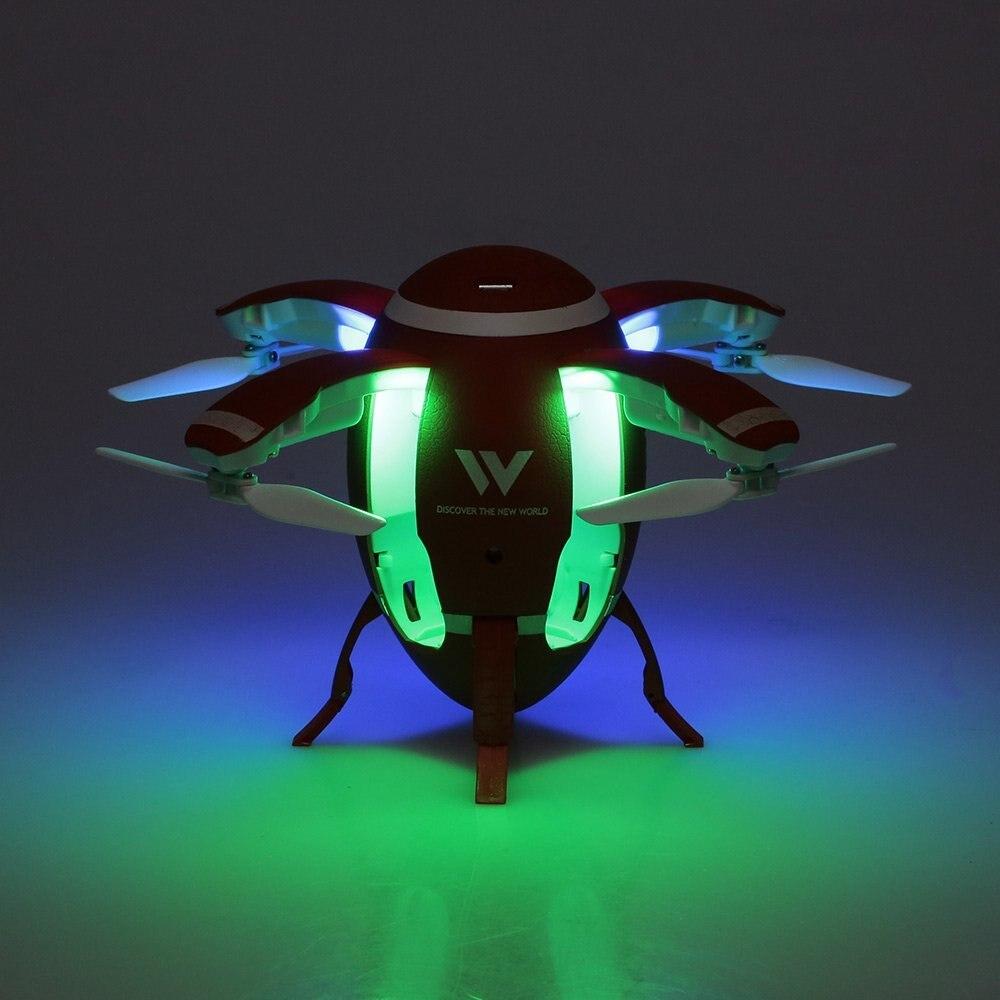 Foldable Flying Egg Drone w/ Selfie option & Altitude Hold , 3D Flip 5