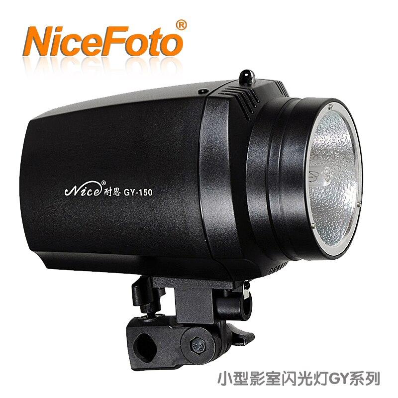 NiceFoto studio flash gy série 150 w portrait id photos équipement photographique vêtements accoutrage lumière de tir