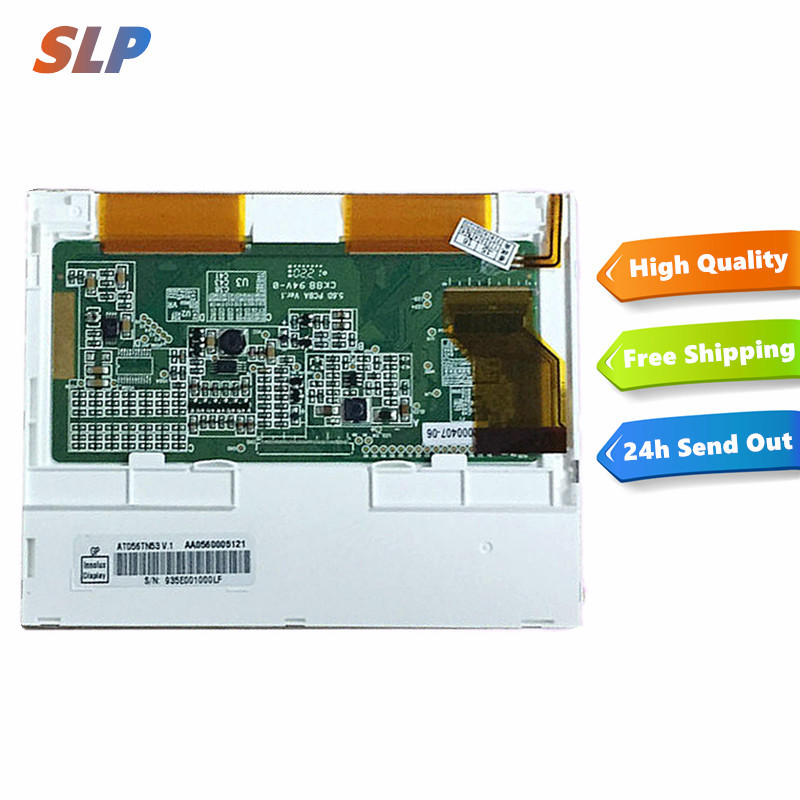 skylarpu 5.6inch LCD screen For Innolux AT056TN53V.1 AT056TN52 V.3 LCD display screen digitizer 640*480 VGA Free shippingskylarpu 5.6inch LCD screen For Innolux AT056TN53V.1 AT056TN52 V.3 LCD display screen digitizer 640*480 VGA Free shipping