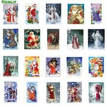 Фотография Full Diy Diamond Painting Embroidery Cross Stitch Santa Claus Christmas Gift Diamond Mosaic Needlework Art Decoration