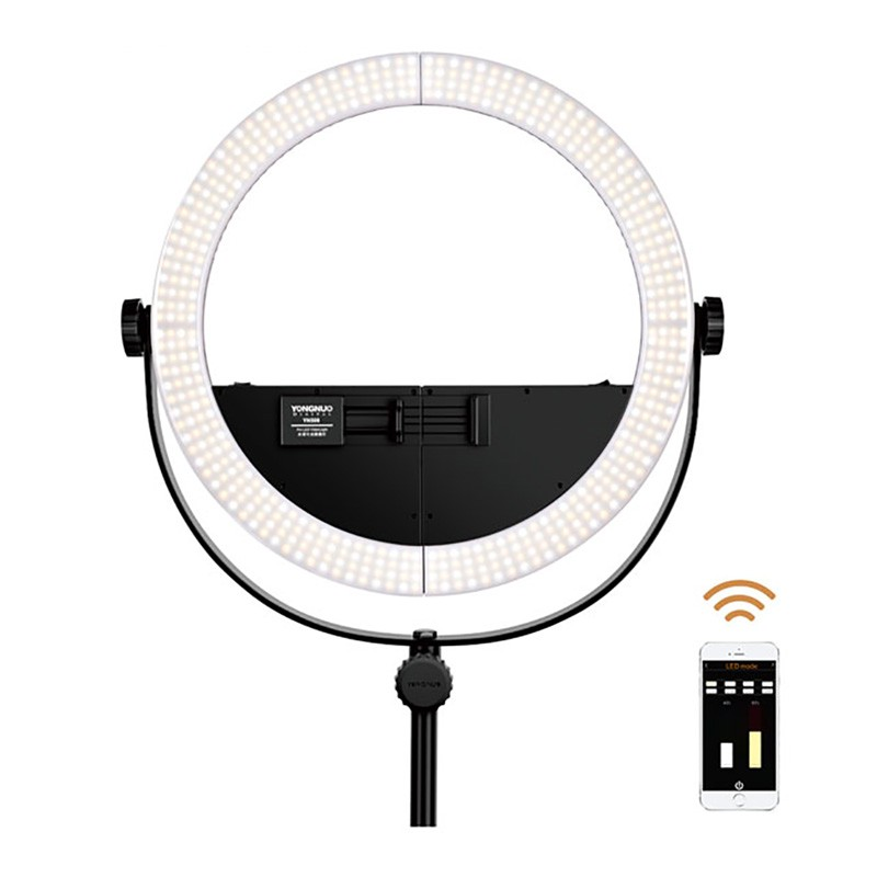 Yongnuo 2 In 1 Youtube Led Video Lamp Yn508 Photography Dimmable
