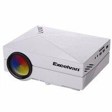 Excelvan GM60 MINI Tragbare Led-projektor HDMI/VGA/AV/Sd-eingang Für Videospiele/TV/Heimkino Mode Entworfen Beamer/Proyector