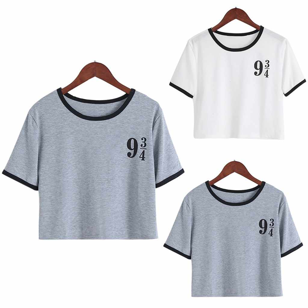 2019 Tshirt Women Harajuku Fashion Short Sleeve T-Shirt Casual Tops Loose Top Poleras Camiseta Mujer Top Women T Shirt Poleras