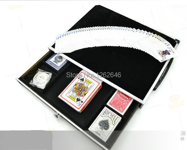 Free shipping! Table- Close Up Case with Magnet and Drawer  - Magic Trick,Fun Magic,Magic Accessories,Close-up,Stage