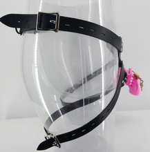 Strapon silicone chastity cock cage belt