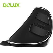 Neue Original Delux M618 PLUS Drahtlose Maus Ergonomische Vertical Mouse USB Optische Einstellbare 1600 DPI Mäuse Computer Gaming Mause