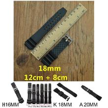 2019 Newly Hot Rubber Watchband Watches Replace Electronic Wristwatch Band Sports Watch Straps MSK66