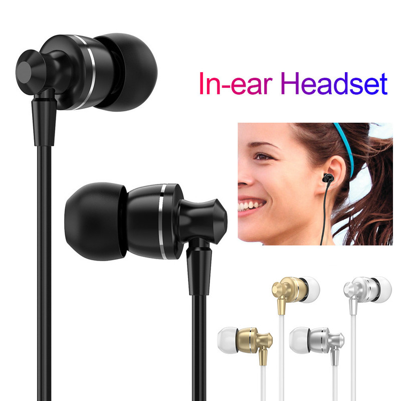 Noise Canceling Headphone Earphone Headset HI FI HD Super Bass Stereo Earbuds for XiaoMi Mobile Phone for IPhone