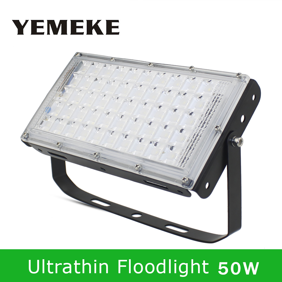 LED Reflector 50W Flood Light Led 220V Waterproof IP65 Led Floodlights 4500lm Flood Lights Led Outdoor Lighting Warm White/White