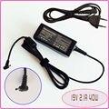 Для ASUS Eee PC Seashell 1015PW 1015PX 1015BX 1015CX 1015PEB Ноутбук Нетбук Адаптер Переменного Тока Питания Зарядного 19 В 2.1A