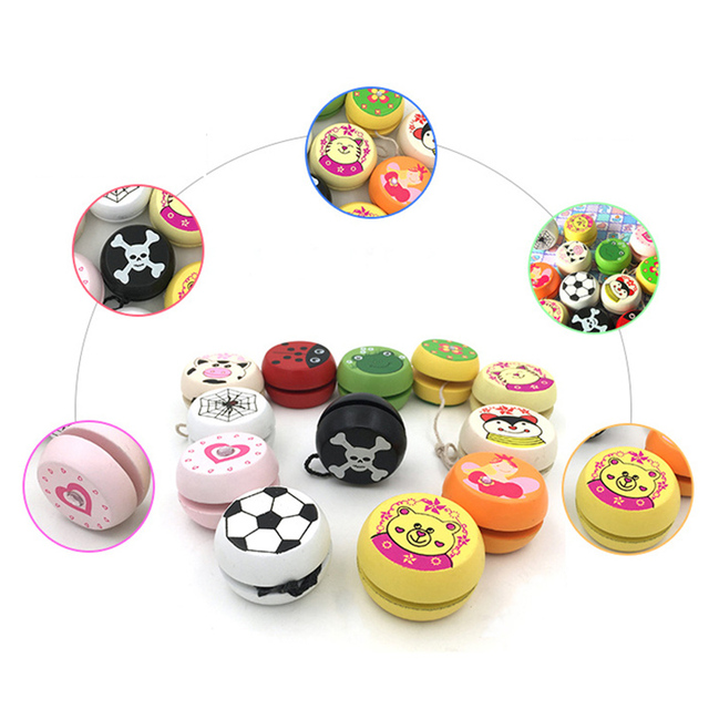 Wooden Yo-Yo Toy for Kids