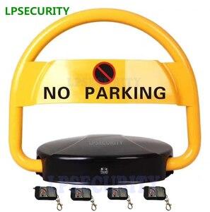 Image 2 - LPSECURITY bezpieczeństwo na drodze brak pojazdu parkingowego/bariery rowerowej/bloku/blokady automatyczny 2 lub 4 pilot zdalnego sterowania (bez akumulatora)