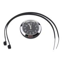 Universal resistente al agua motocicleta montaje en manillar reloj Dial reloj 36 mm Oro Negro Plata azul|Relojes| |  -