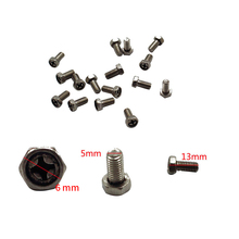 3 PCS Gas stove Panel Stainless Seel Screws Fixed Stove