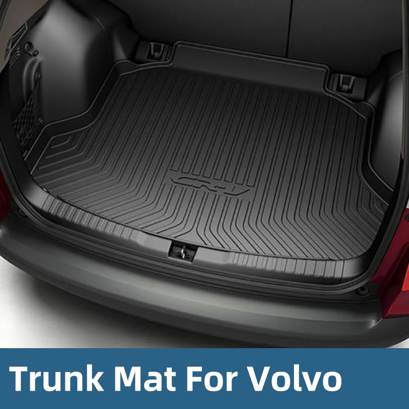 All Weather Cargo Trunk Liner Floor Mat Rear Cargo Tray For Volvo V40 V60 V90 XC60 XC90 S40 S60 S80 S90
