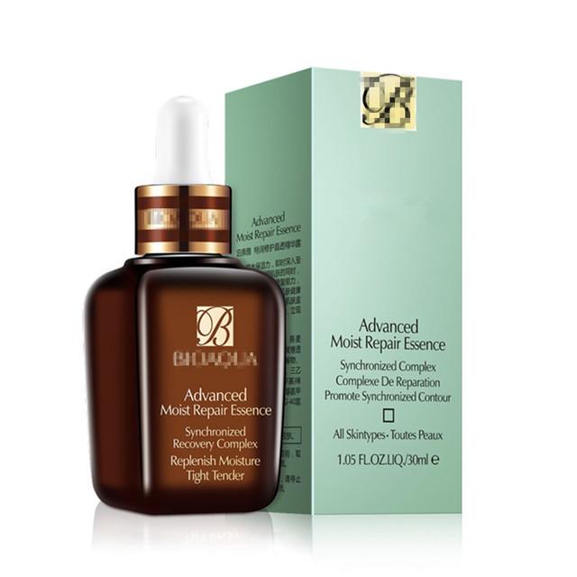 Nuevo 30 ml rejuvenecimiento marrón botella de crema contra el envejecimiento de suero para líneas / arrugas / manchas de la edad cuidado de la piel avanzada reparación húmeda