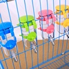 Small Pet Dog Hamster Portable Feeding Cage Hanging Kettle Drinking Balls Automatic Drinking Watering Device