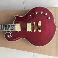 Custom Electric Guitar, Quilted, Pin, Elegant, Beauty