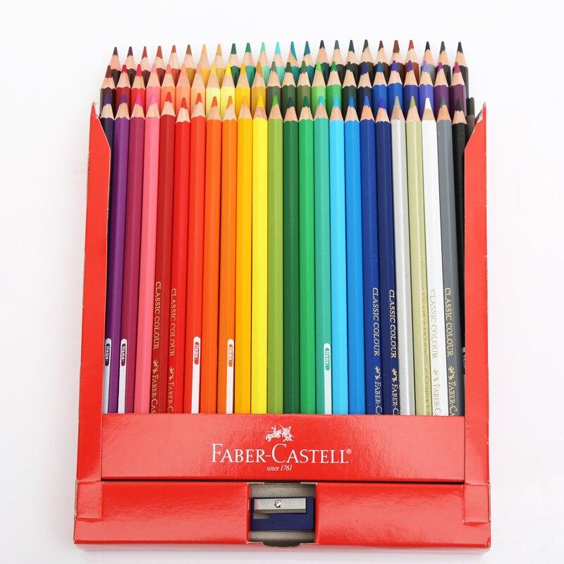 faber castell 36 48 72 colored pencil professional lapis de cor