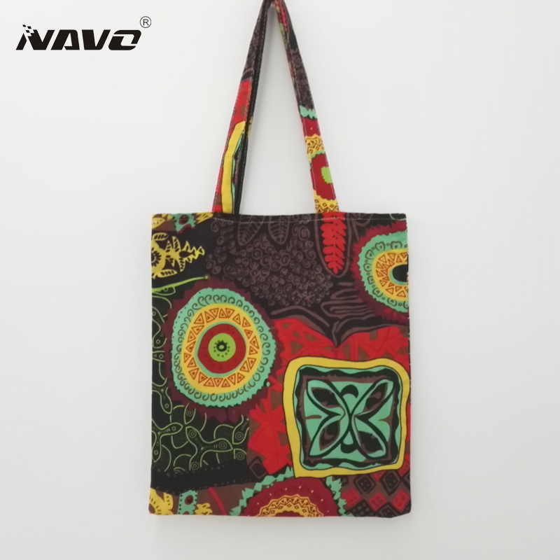 Women vintage shoulder handbag cotton linen beach bag national ethnic style baobao shopping bag bohemian sac ofertas del dia 2016 summer national ethnic style embroidery bohemia design tassel beads lady s handbag meessenger bohemian shoulder bag page 2