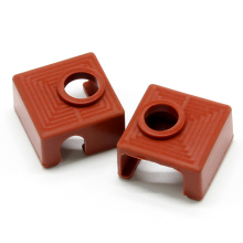 2 PACK for 3D Printer Heater Block Silicone Cover MK7/MK8/MK9 Socks Creality CR-10,10S,S4,S5 Anet A8
