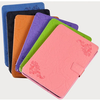New Magnetic Prints Pattern Folio Stand Cover Protective Print Flower Leather Case For Asus ZenPad 3