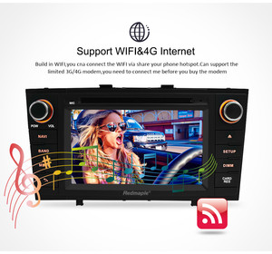 """Image 4 - 7"""" Android 10.0 Car Stereo Radio For Toyota T27 Avensis 2009 2014 2 Din DVD GPS Navigation Wifi FM DAB+Headunit Bluetooth 4G RAM"""