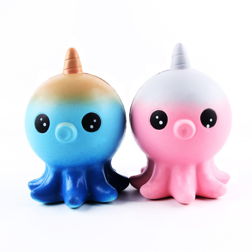 Squishy Toy octopus Little eight New Cute Unicorn Octopus Scented Squishy Slow Rising Squeeze Toy Collection Cure Gift MAY 17