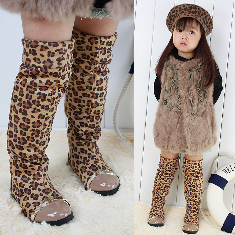 Compare Prices on Leopard Kids Boots- Online Shopping/Buy Low