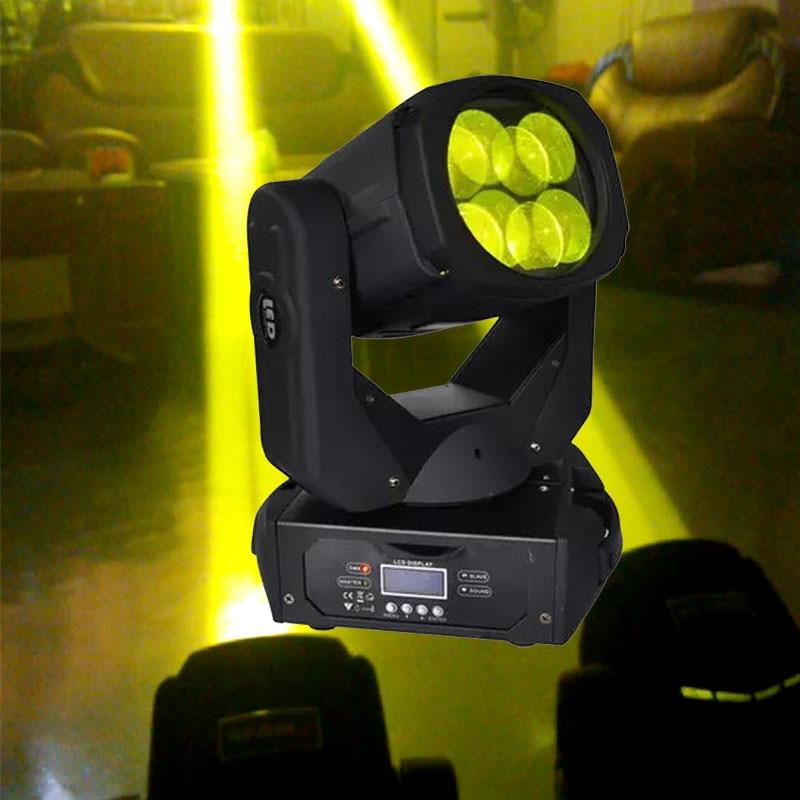 150W LED Super Beam Moving Head Light 4X25w Super Beam DMX 11/16 Channels Stage Lighting For  Disco Nightclub DJ Bar Party