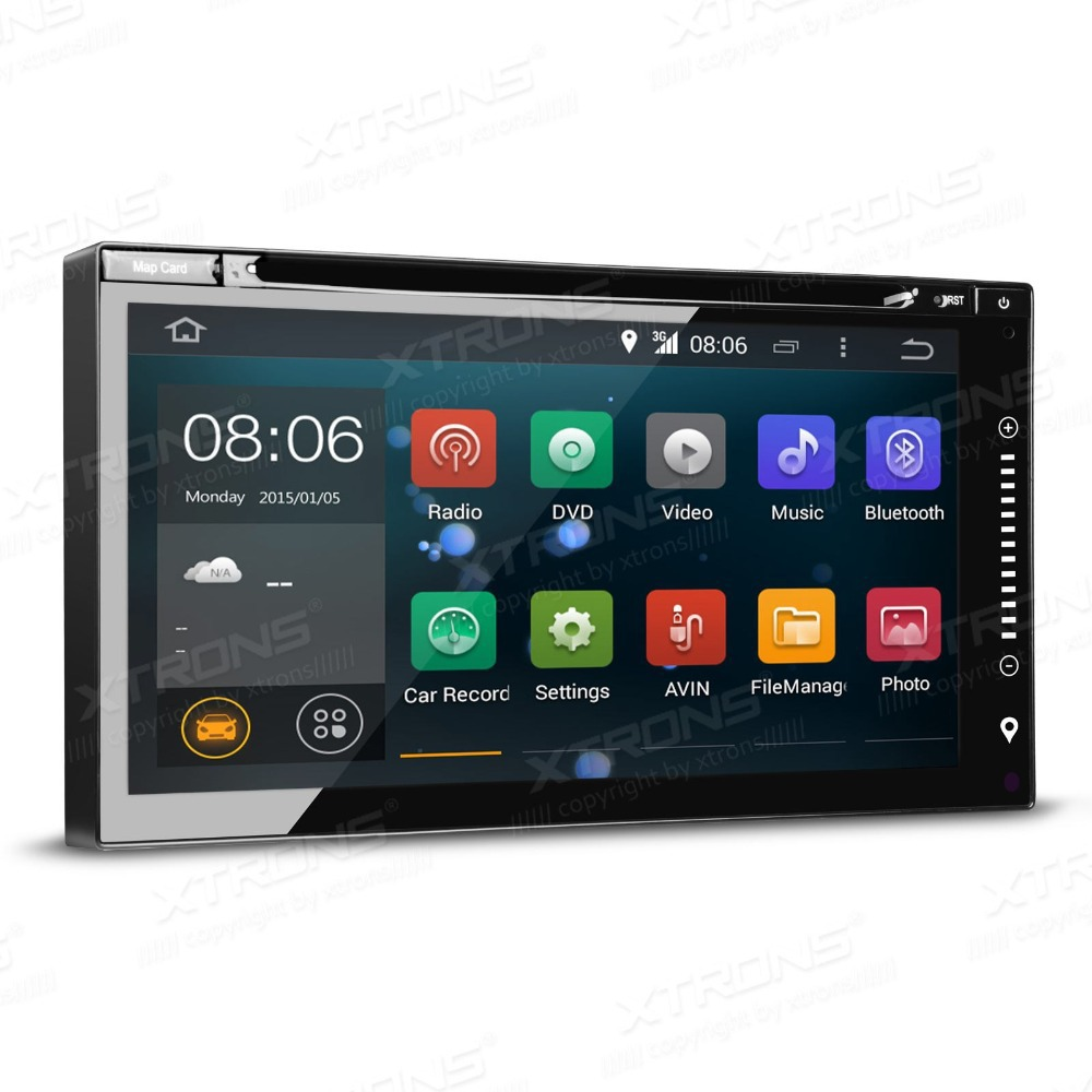 """6.95"""" Quad Core Android 4.4.4 Kitkat OS 2Din Car DVD GPS"""
