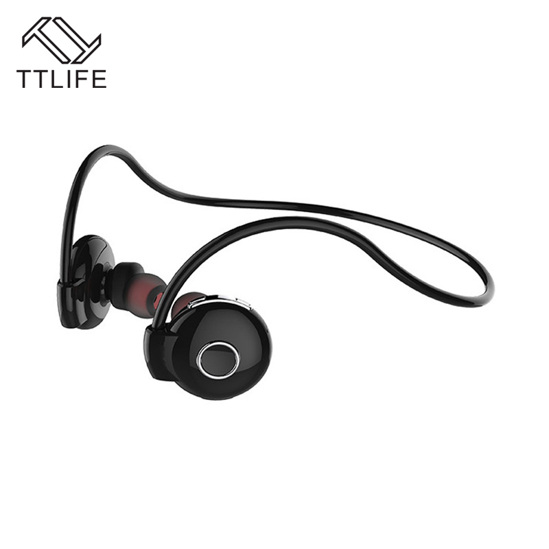 TTLIFE Sweatproof Wireless Bluetooth Earphone in ear HiFi Sports Earbud Running stereo Headphone Headset for iPhone 7 Android