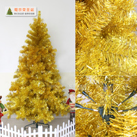 2 1 Meters Gold Silver Christmas Tree Pvc Christmas Tree Christmas Tree Bundle
