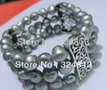 NATURAL SOUTH SEA Strand the PEARL BRACELET #2421 -f