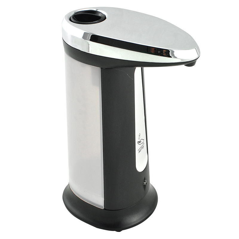 Hot Sale 400ML New ABS IR Sensor Touchless Automatic Liquid Soap Dispenser For Kitchen Bathroom Home Black NEW Arrival