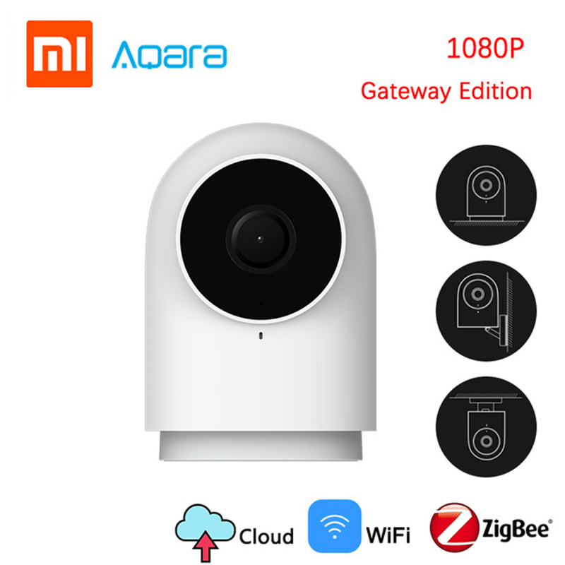 Newest Xiaomi Aqara Smart Camera G2 1080P Gateway Edition Zigbee Linkage Smart Devices IP Wifi Wireless