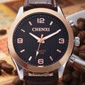 Auténtica Suiza relojes de los hombres relojes correa de cuero de los hombres de Ocio de Moda reloj luminoso Relojes para hombre