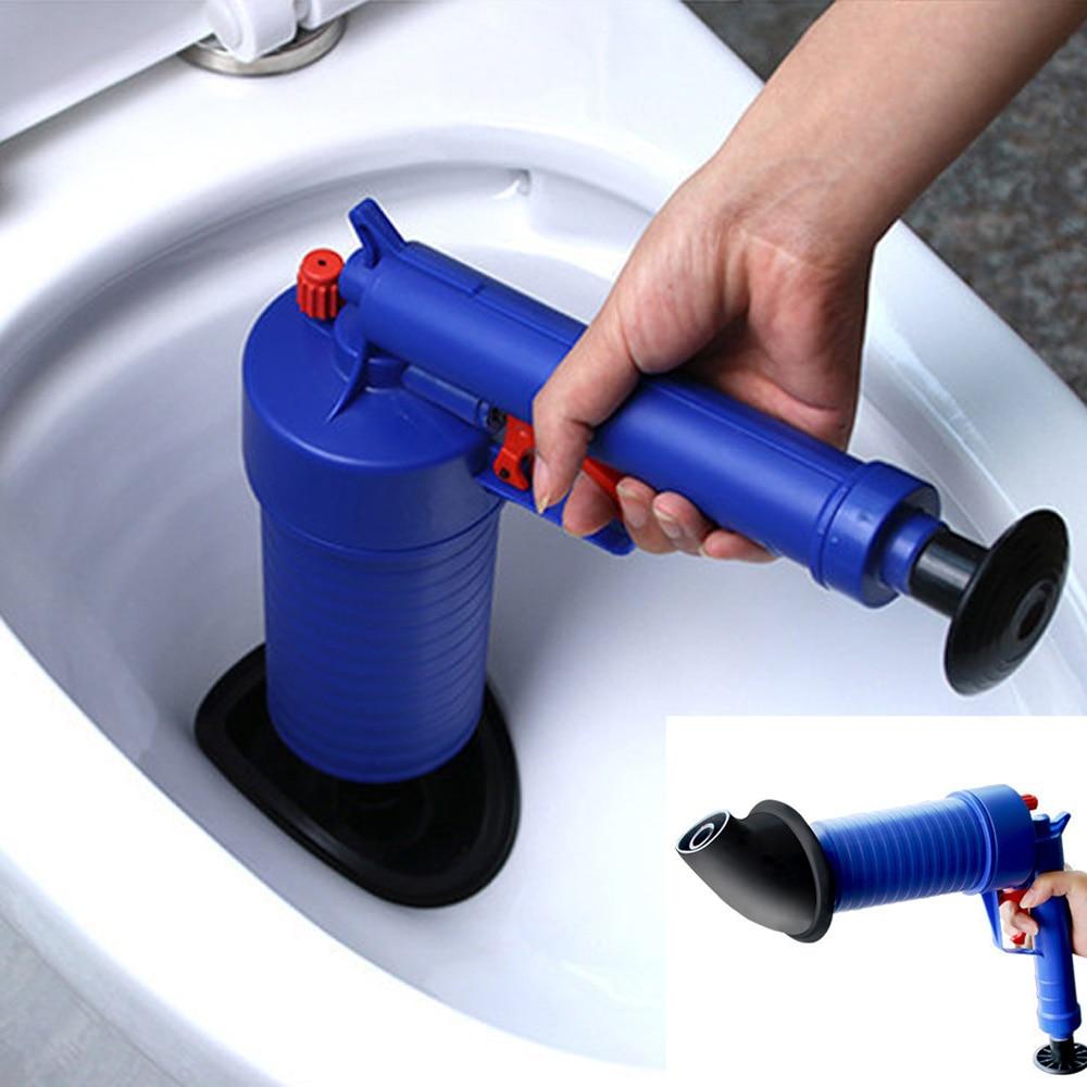 Abflussreiniger Manuelle Clog Kanone Hochdruck Air Power Drain Blaster Manuelle Toiletten Bad Küche Waschbecken Plunger Reiniger Pumpe Werkzeuge Schnelle Farbe