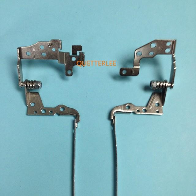 Novo laptop left & right dobradiças para hp 250 256 g3 15-d 15-d012tx 15-d013tx h5-r dobradiças para o transporte livre em estoque