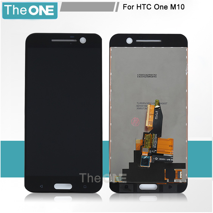 For HTC ONE M10 M10h LCD Display + Touch Screen with Digitizer Assembly Replacement Free Shipping With Tracking No lcd screen display touch panel digitizer for htc bolt for htc 10 evo white or black color free shipping