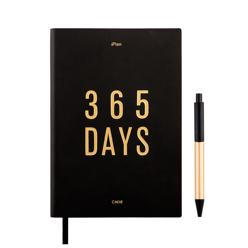 все цены на 365 Days Agenda 2019 Planner Organizer Diary A5 Notebook Dividers Weekly Monthly Personal Travel Journal Dokibook Note Books+Pen