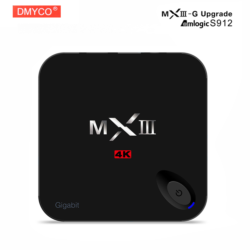 [Genuine] MXIII-G Amlogic S912 Cortex-A5 Android 6.0 TV BOX Quad-core 1000M 2GB/16GB 2.4GHz WiFi BT4.0 H.265 MXIII G MX3-G домашний кинотеатр mxiii m82 amlogic s802 kitkat cortex a9 android 1 8 xbmc moveis amlogic m8 s802 mxiii