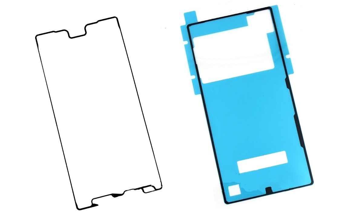 Nouveau ruban adhésif d'affichage d'origine pour Sony Xperia Z5 premium E6853 E6883 boîtier en verre arrière colle étanche pour SONY Z5 premium