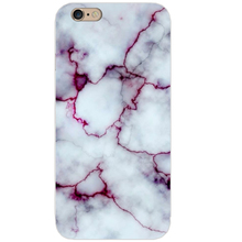 Marble Stone Painted Phone Case For iPhone 6 6S 7 8 X Case Soft Transparent TPU Cover For iphone 6 6S 7 8 Plus 5 5S SE 4S Cases