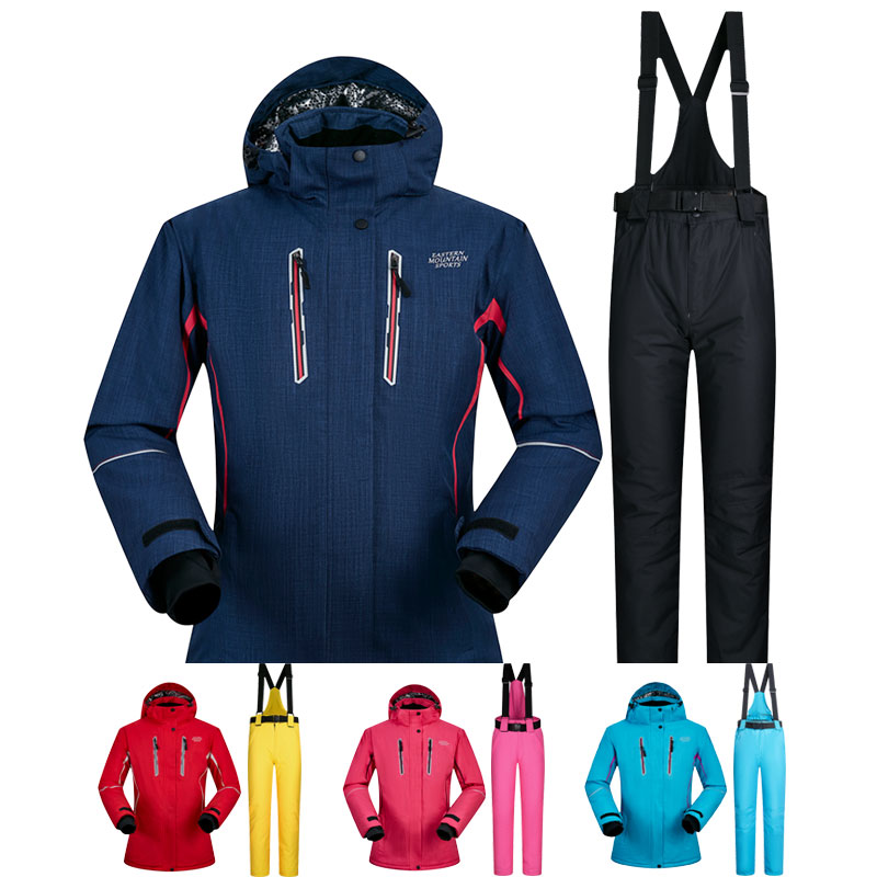 Snowboarding Suits Women Winter Windproof Waterproof Female Ski Jacket And Snow Pants Sets Super Warm Brands
