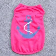 Anchors printing Vest Shirts